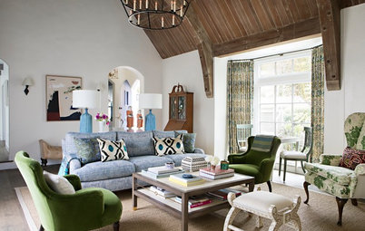 Houzz Tour: Tudor-Style Home Updated for Modern Family Life
