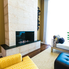 Contemporary Living Room by WALL2WALLDESIGN INC.