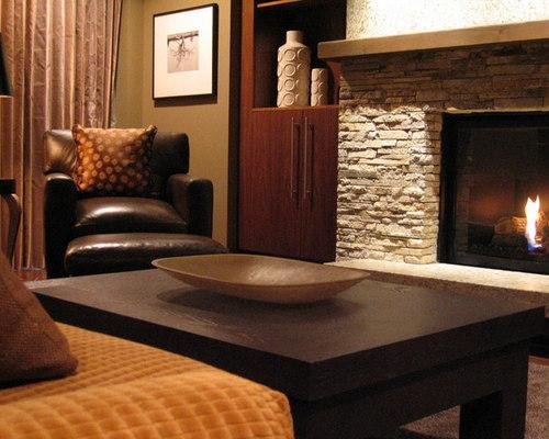 Stone Fireplace Surround Houzz
