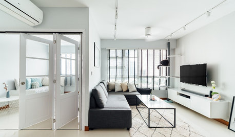 Houzz Tour: This Playful Minimalist Flat is Also Home to Cats
