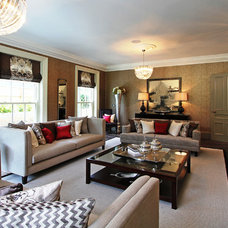 Eclectic Living Room by Alexander James Interiors