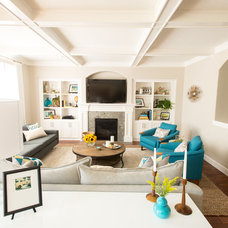 Contemporary Living Room by Jenny Baines, Jennifer Baines Interiors