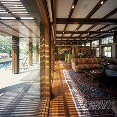 Contemporary Living Room by ALTUS Architecture + Design