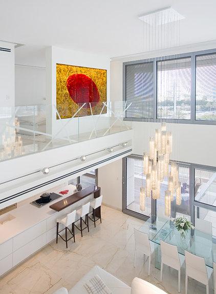 Modern Living Room by Galilee Lighting