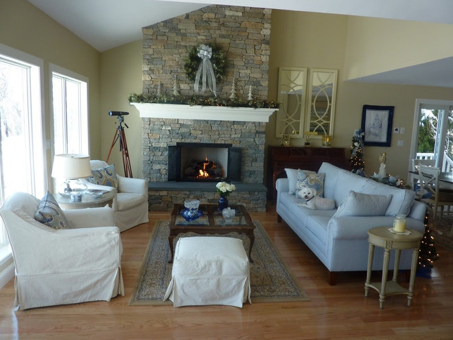 Traditional Living Room by August West Chimney & Fireplace Concepts