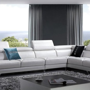 Leather Sectional | Houzz