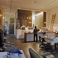 Contemporary Living Room by Jane Kim Design