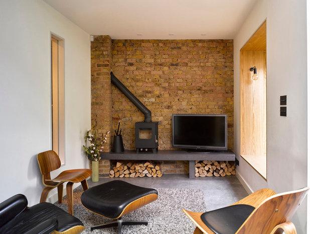 Contemporary Living Room by Brian O'Tuama Architects