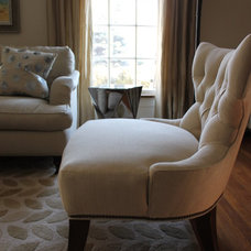 Traditional Living Room by Mary Best Designs