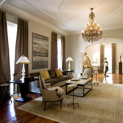 traditional living room by Kenneth Lynch & Associates
