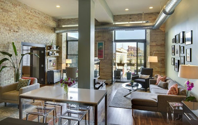 Houzz Tour: Designer Divides and Conquers a Big, Open Loft