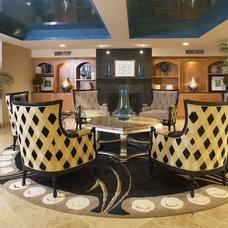 Contemporary Living Room by Sarah Bernardy Design