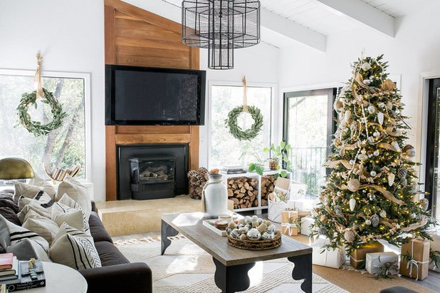 Country Living Room by Design Shop Interiors