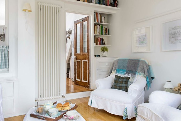 Coastal Living Room by Whitstable Island Interiors