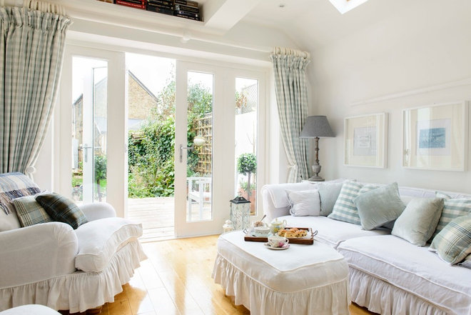 Shabby-chic Style Living Room by Whitstable Island Interiors