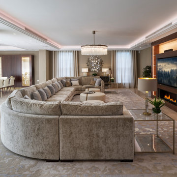 Whole Home with Focus on Entertainment