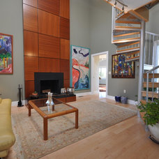 Contemporary Living Room by New Outlooks Construction