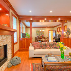 Eclectic Living Room Whole House Design