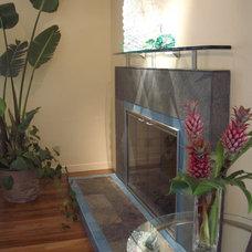 Contemporary Living Room by Susan M. Davis