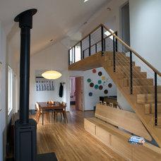 Modern Living Room by ALM Design Studio