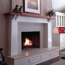 Traditional Living Room by Design Group Three