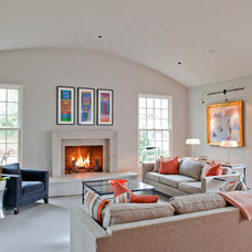 Contemporary Living Room by Wills Company