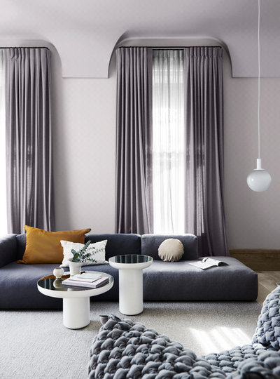Contemporary Living Room by Dulux Paint