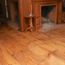 Traditional Living Room by Hull Forest Products
