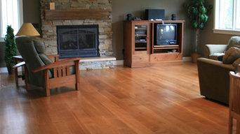 Wide Plank White Oak Floor
