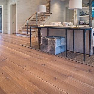 Wide Plank White Oak Wood Floor in Nashville TN Modern Farmhouse