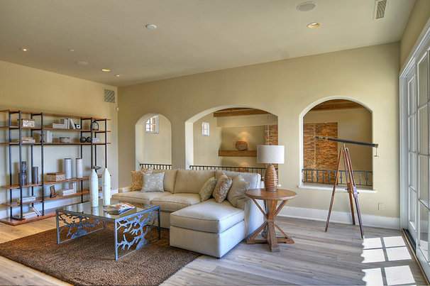 Traditional Living Room by DuChateau Floors