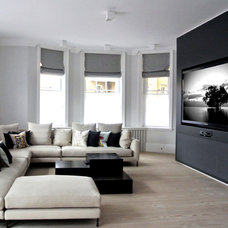Contemporary Living Room by Inspired Dwellings
