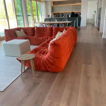 'Wild Rose' flooring, 230mm wide plank