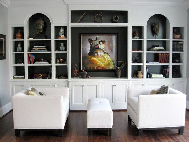 Contemporain Salon by SRM Architecture and Interiors
