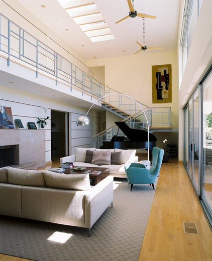 Contemporary Living Room by Studio William Hefner