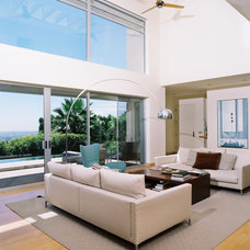 Midcentury Living Room by Studio William Hefner
