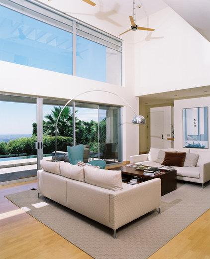Midcentury Living Room by Studio William Hefner