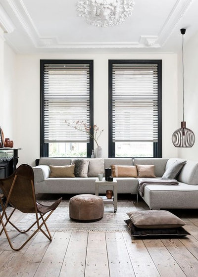 Scandinavian Living Room by Lydia Sullivan