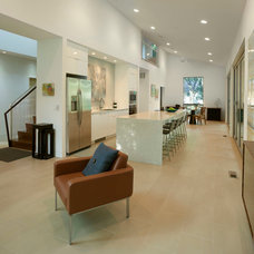 Modern Living Room by DRAW Architecture