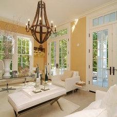 Contemporary Living Room by suzanne pignato