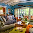 Tomales Retreat Eclectic Living Room San Francisco