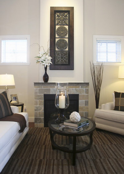 Contemporary Living Room by Emily Hagerman Design