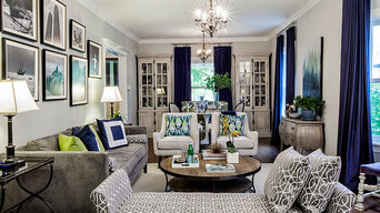 Wilmette Entertaining Room