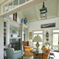 Traditional Living Room by Brooks and Falotico Associates, Inc.