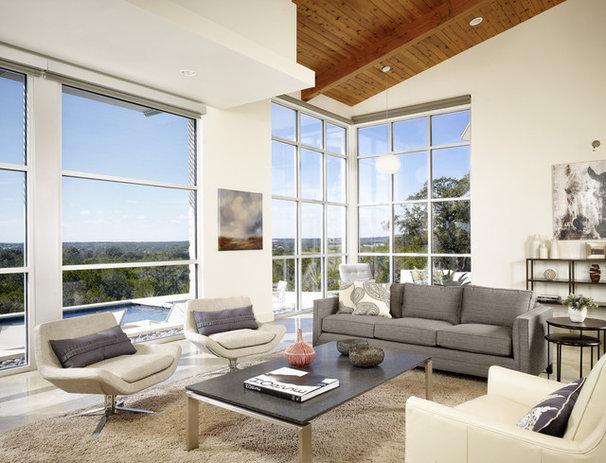 Modern Living Room by 3 Fold Design Studio