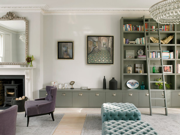 10 Times Built-in Storage Has Transformed a Living Room