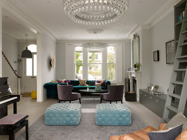 Victorian Living Room by STEPHEN FLETCHER ARCHITECTS
