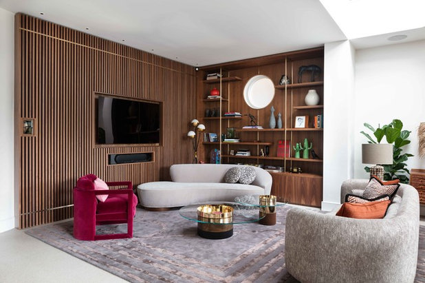 Contemporary Living Room by Nathalie Priem Photography