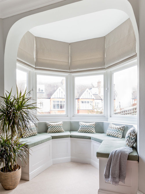 Bedroom bay window houzz - Bay window bedroom ideas ...