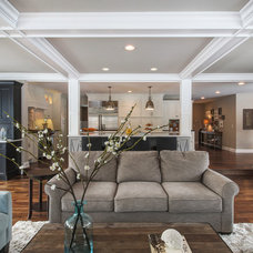Traditional Living Room by Redstart Construction Inc.